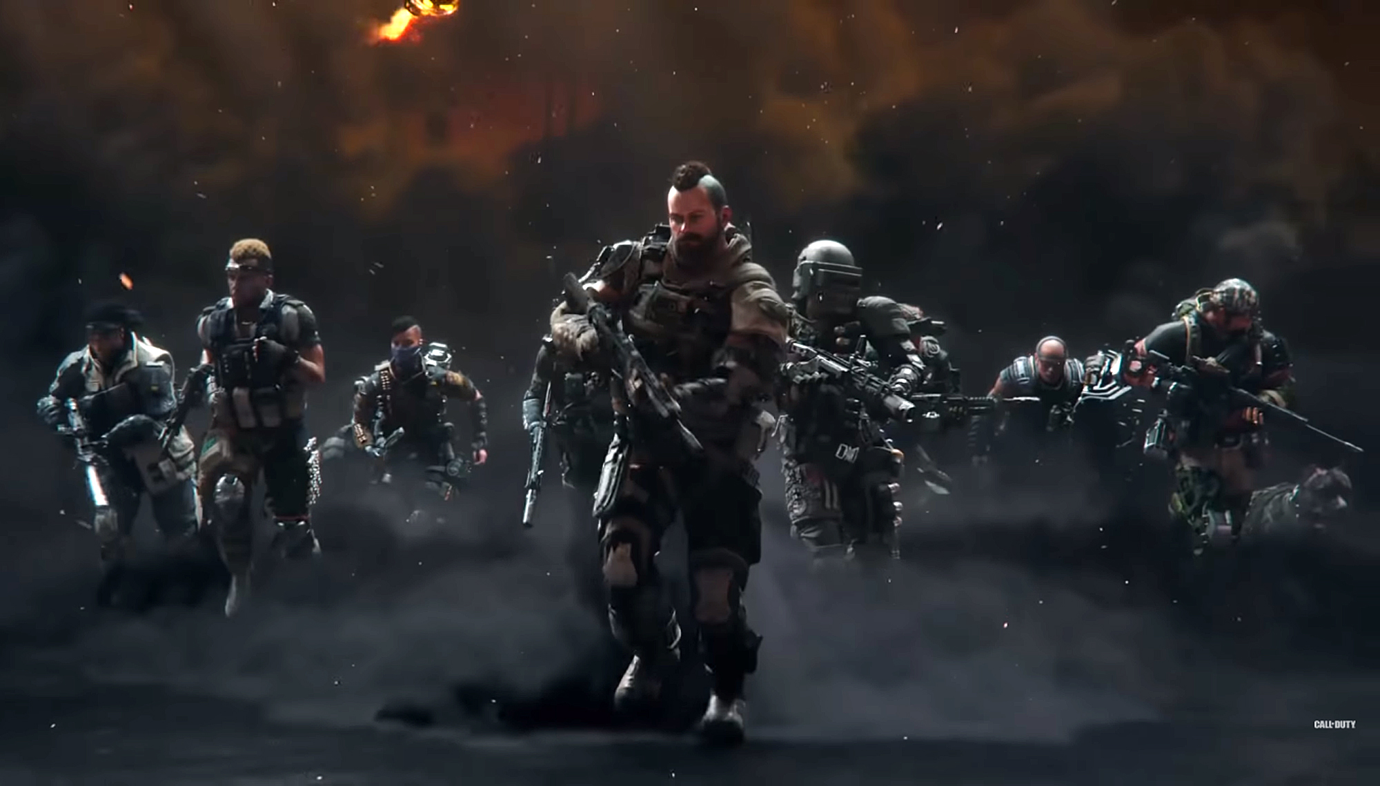 Call Of Duty Black Ops 4 List Of All Specialists Classes And Their