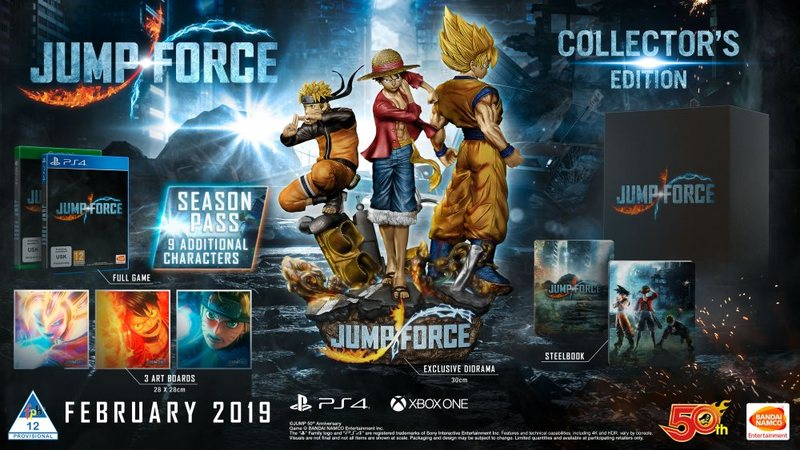 The Jump Force Premium Edition And Collector\u0027s Edition What Will We