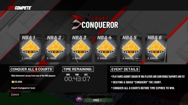5 Tips to Takeover Court Conqueror in NBA 2K19 - GamePretty