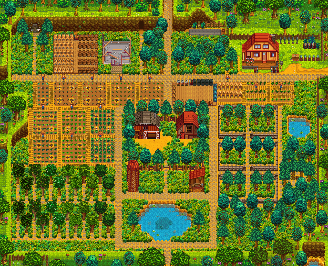 Stardew Valley – Tips for Farm Layout and Design - GamePretty